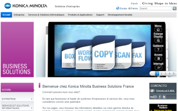 Solutions Konica Minolta