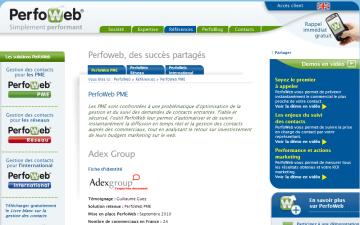 Perfoweb PME