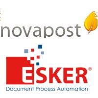 Novapost intègre la solution Esker dans son offre de dématérialisation des bulletins de paie