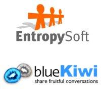 Pour lier la gestion de contenu traditionnelle et le logiciel de réseaux sociaux professionnels blueKiwi et EntropySoft s'associent