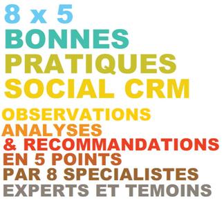 Livre blanc 8×5 bonnes pratiques Social CRM